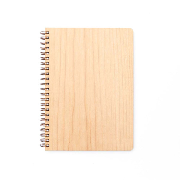 Large Wood Notebook (Maple) Discbound Journal - Pacific and West
