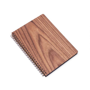 Large Wood Notebook (Walnut) Discbound Journal - Pacific and West
