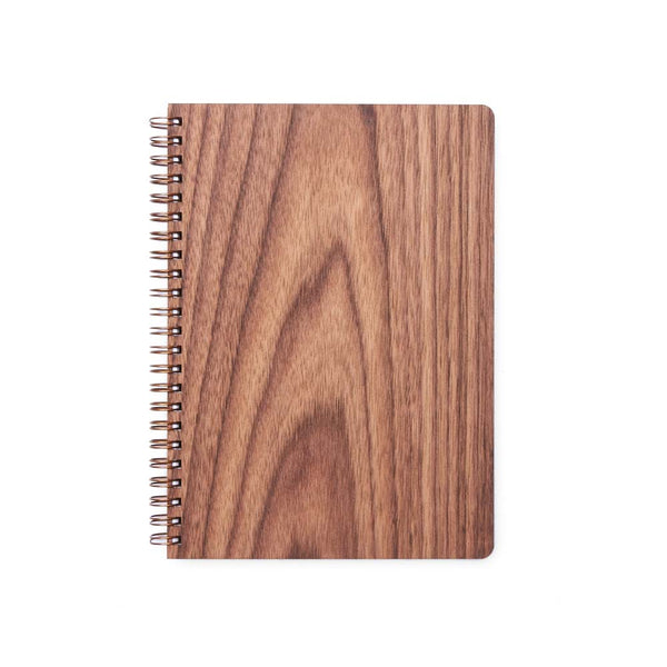 Large Wood Notebook (Walnut) Premium Journal - Pacific and West