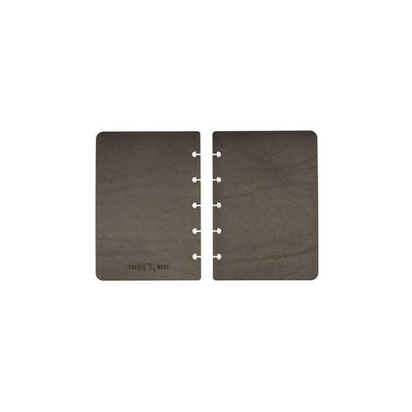 Pocket Century Covers (Black) Discbound Journal - Pacific and West