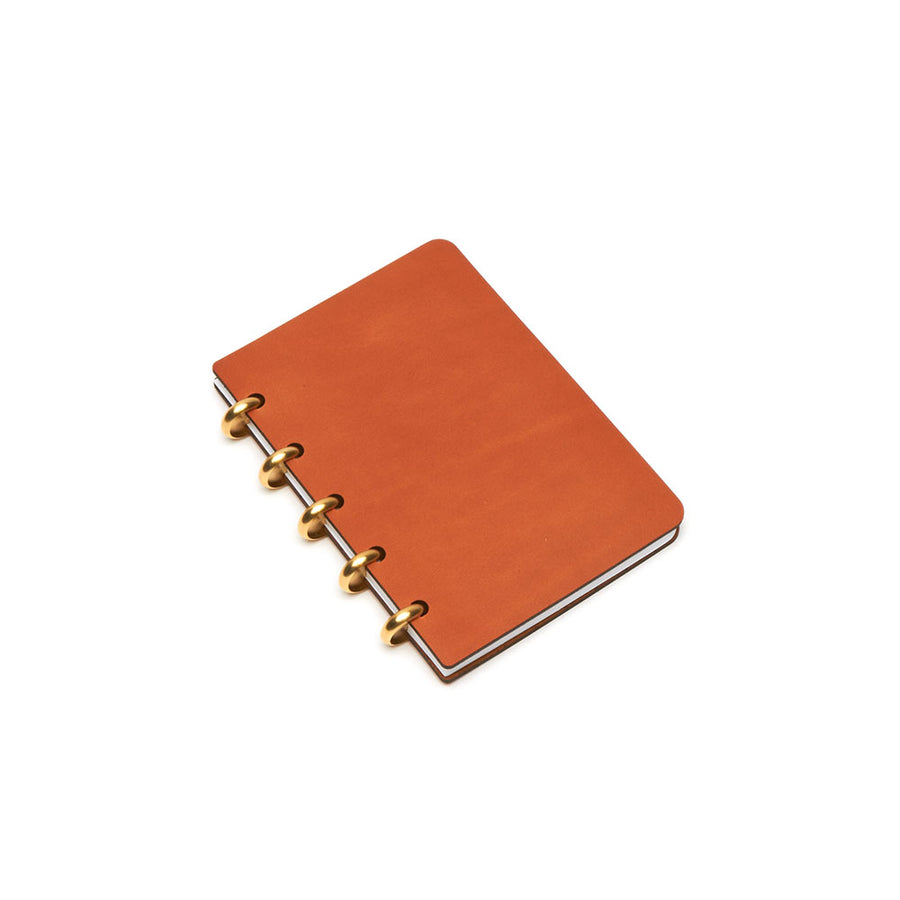 Pocket Century Leather Notebook (Tan) Premium Journal - Pacific and West