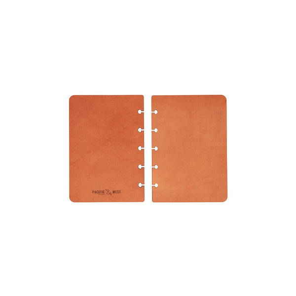 Pocket Century Covers (Tan) Discbound Journal - Pacific and West