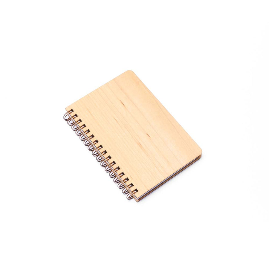 Pocket Wood Notebook (Maple) Premium Journal - Pacific and West