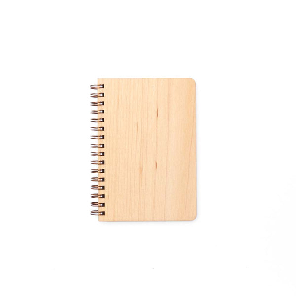 Pocket Wood Notebook (Maple) Discbound Journal - Pacific and West