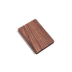Pocket Wood Notebook (Walnut) Premium Journal - Pacific and West