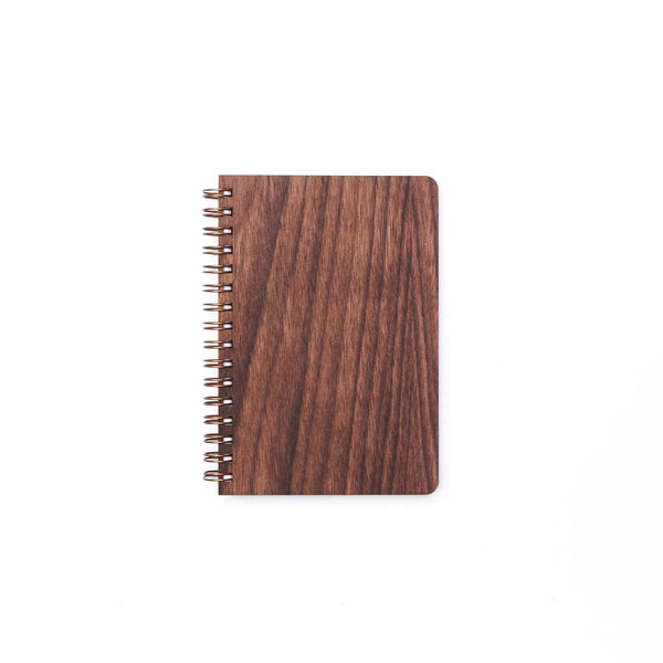 Pocket Wood Notebook (Walnut) Discbound Journal - Pacific and West
