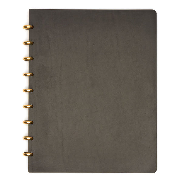 Extra Large Century Leather Notebook (Black) Premium Journal - Pacific and West
