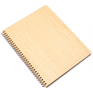 Extra Large Wood Notebook (Maple) Discbound Journal - Pacific and West