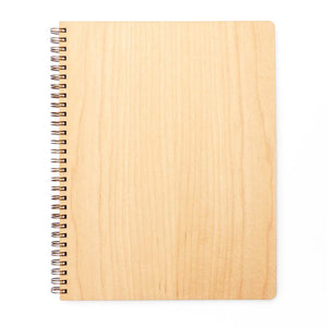 Extra Large Wood Notebook (Maple) Premium Journal - Pacific and West