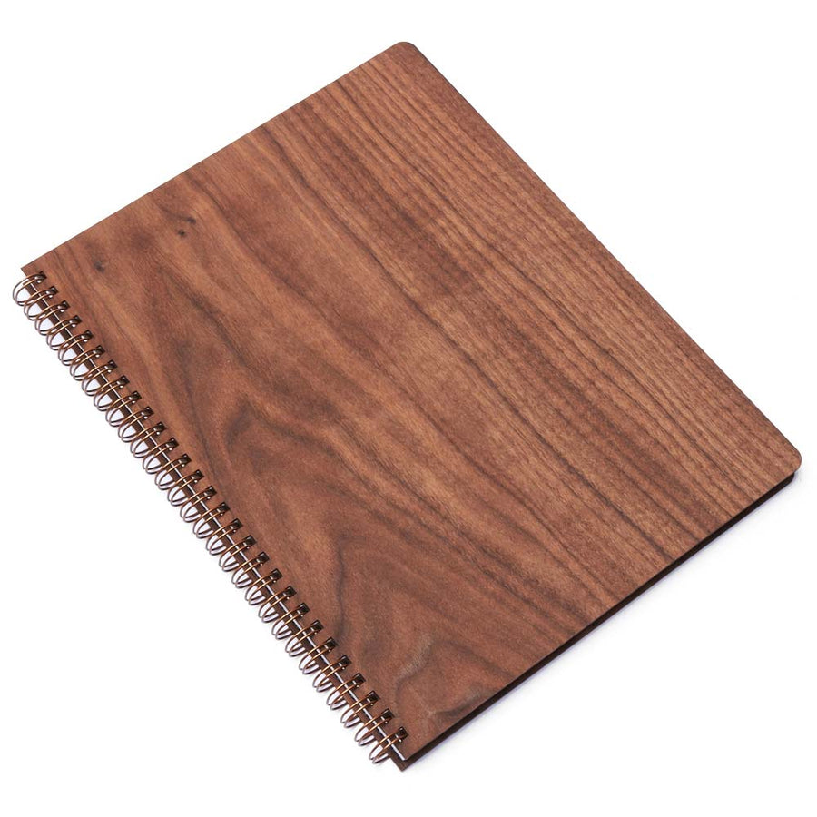 Extra Large Wood Notebook (Walnut) Discbound Journal - Pacific and West