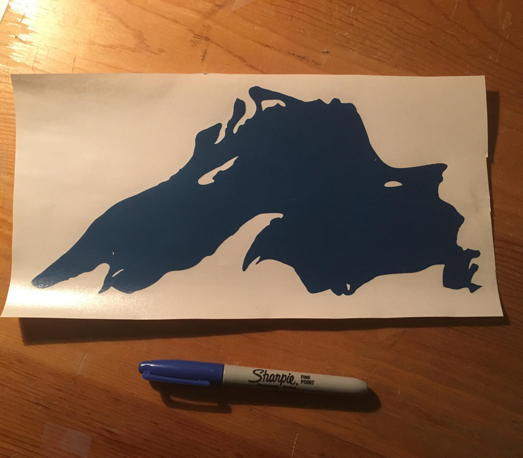 Lake Superior Extra Large Decal!