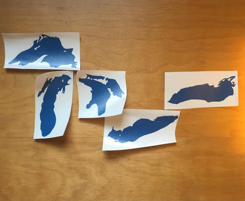 Your Great Lake Decal