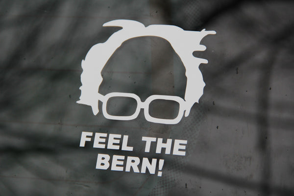 FEEL THE BERN decal