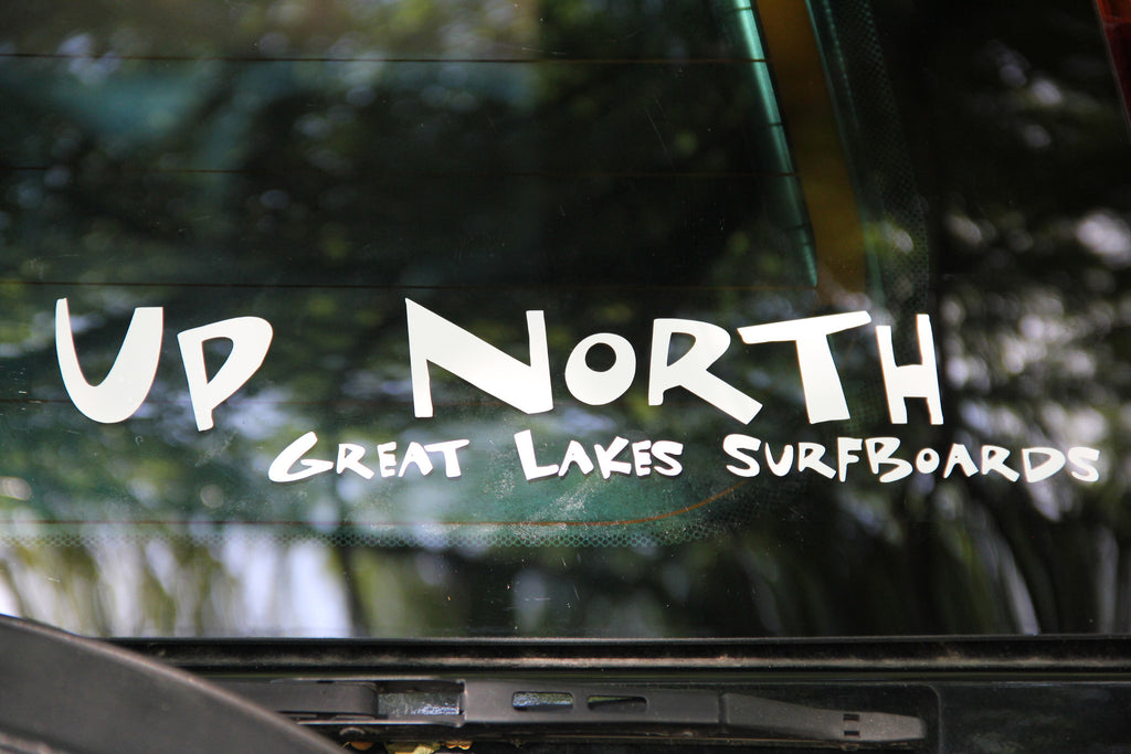 UP NORTH GREAT LAKES SURFBOARDS Decal