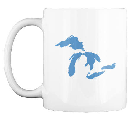 GREAT LAKES COFFEE MUG