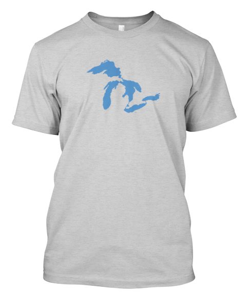 GREAT LAKES TEE SHIRT