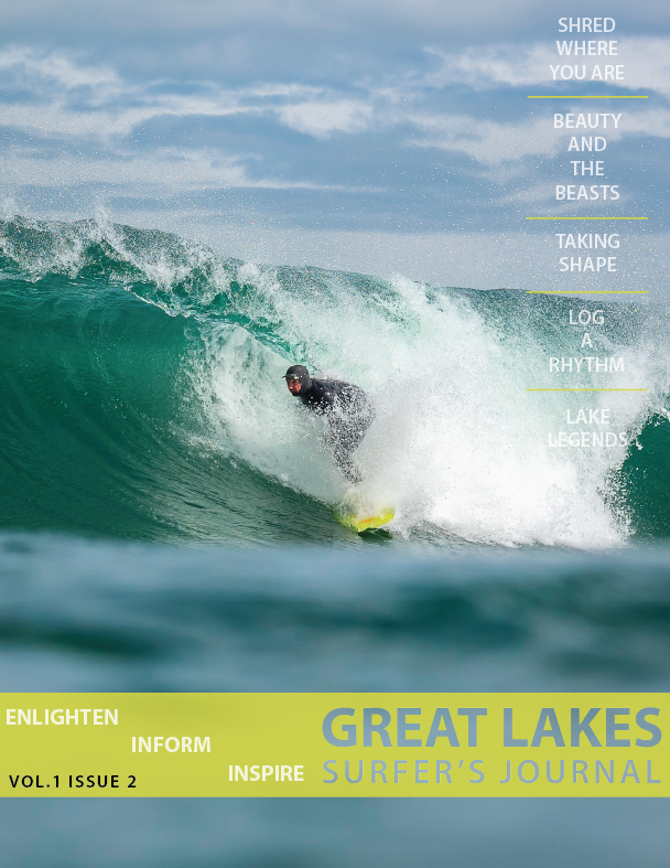 Great Lakes Surfer's Journal Issue 2 (GUARANTEED SHIPMENT BY 8/1/17)