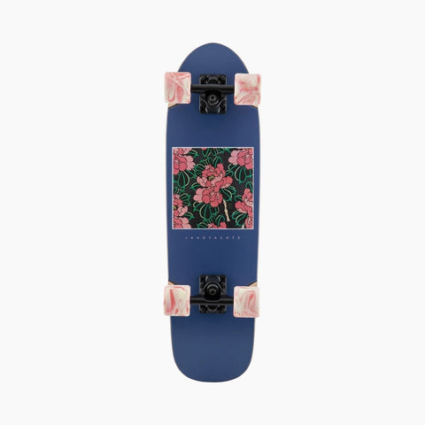 "Landyachtz | Dinghy - Hibiscus Complete - 28.5"" x 8"" (Wheels and Trucks May Vary)"