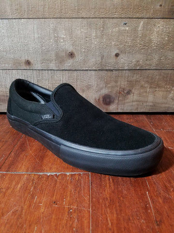Vans | Slip On Pro - Blackout - THIS Skateshop - Fargo, North Dakota