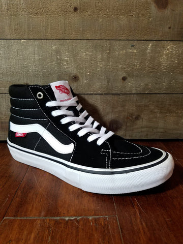 Vans | Sk8-Hi Pro - Black/White - THIS Skateshop - Fargo, North Dakota