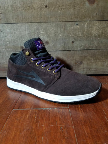 Lakai | Griffin Mid - (All Weather) Chocolate Suede