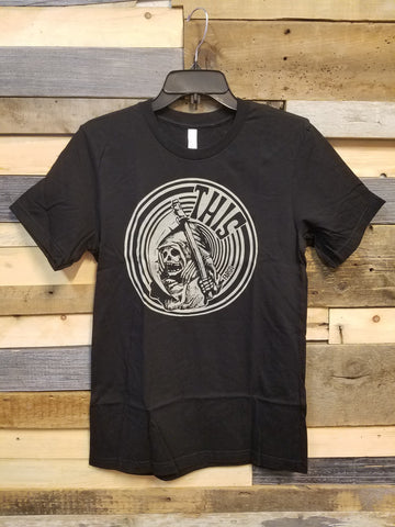 THIS - Round Reaper Shirt - Black