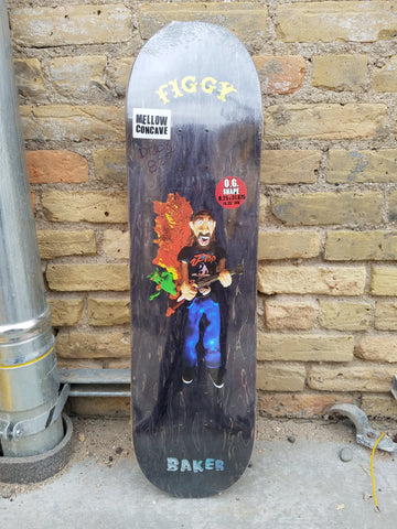 Baker Deck – 8.25 - Figgy Kazi (Black)