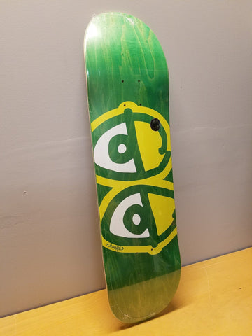 "Krooked | 8.25"" - Eyes Green Stain Deck"