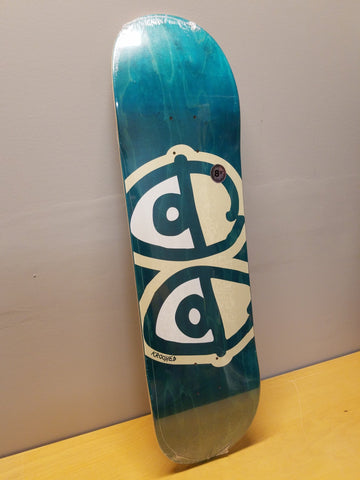 "Krooked | 8.5"" - Eyes Teal Deck"