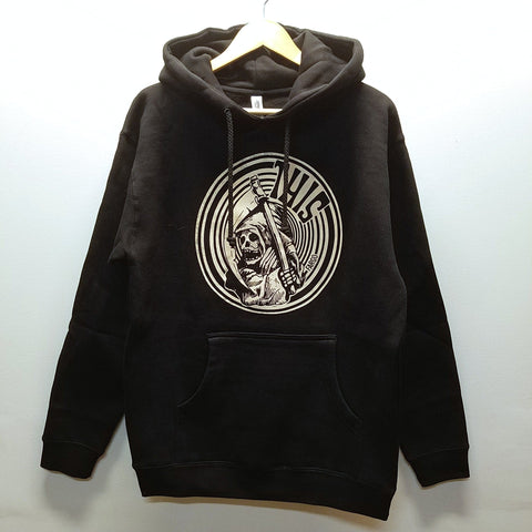 THIS | Circle Reaper Pullover - Black/Vanilla Ink
