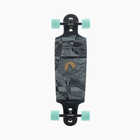Landyachtz | Drop Cat 33 Seeker Black Complete (Wheels and Trucks May Vary)