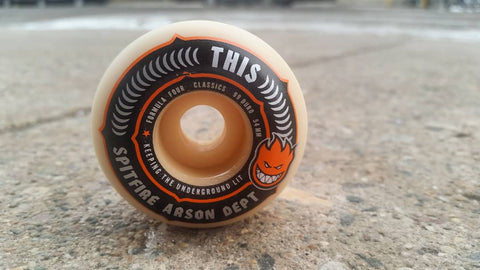 Spitfire | THIS x Spitfire Colab Wheel - THIS Skateshop - Fargo, North Dakota