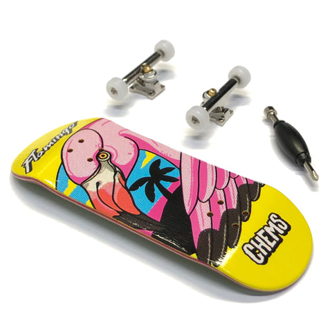 Chems - Flamingo Pink 2 Fingerboard Complete