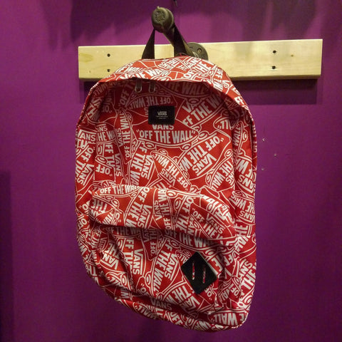 Vans | Off The Wall Backpack - Red/White