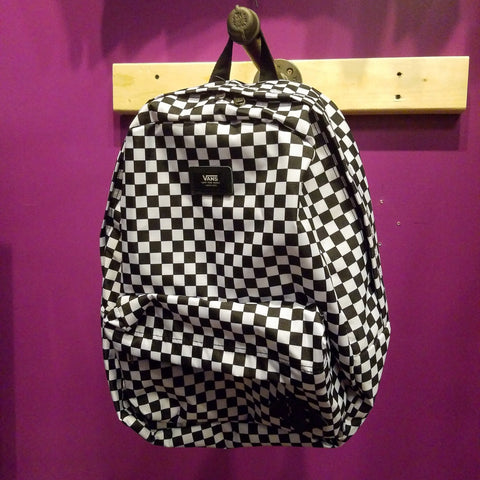 Vans | Black/White Checkers Backpack