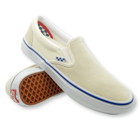 Vans | Skate Slip-On - Off White