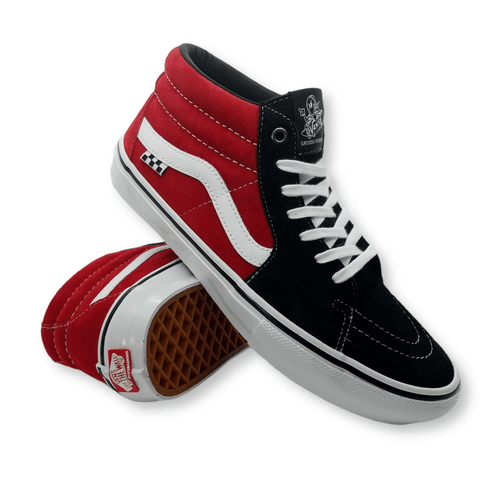 Vans | Skate Grosso Mid - Black/Red