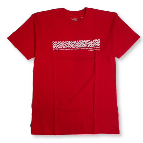 Vans | Grosso Forever T-Shirt - Racing Red
