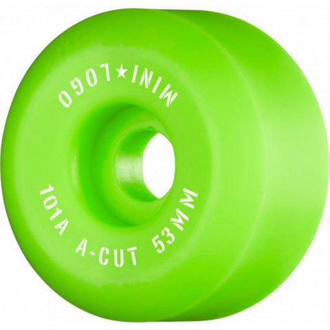 Mini Logo - 53mm 101a Wheels