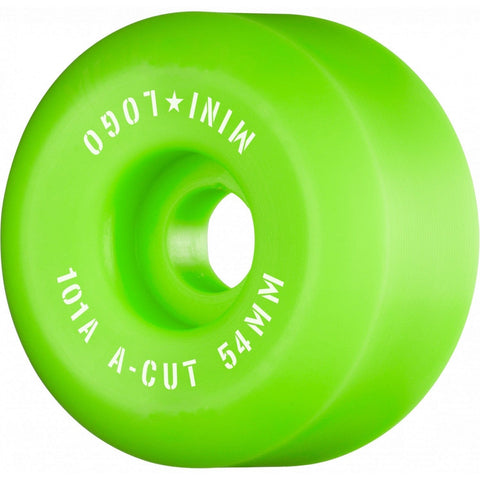 Mini Logo | 54mm - 101a - Green - Conical Shape