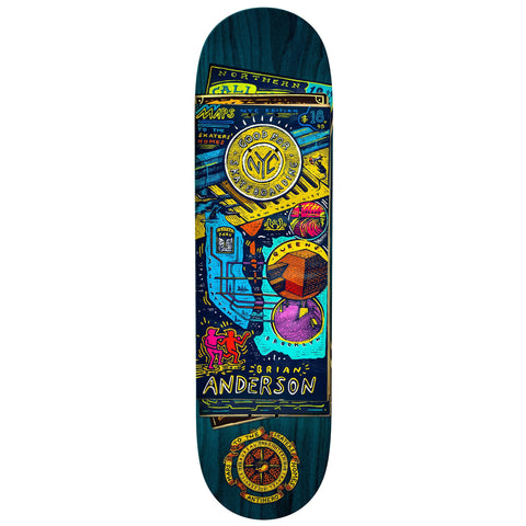"Anti-Hero | 8.75"" Brian Anderson Maps/Homes"