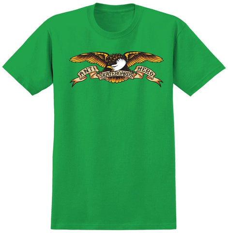 Anti-Hero | Eagle Green Shirt