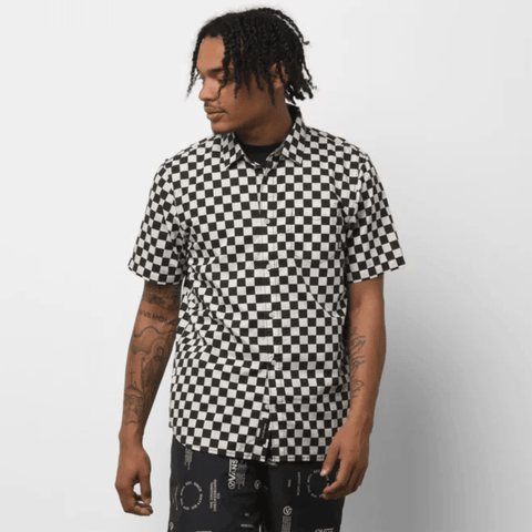 Vans - Cypress Checker Buttondown Shirt - THIS Skateshop - Fargo, North Dakota