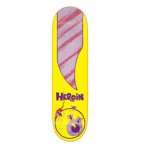 "Heroin | 8.625"" Team Giallo Deck"