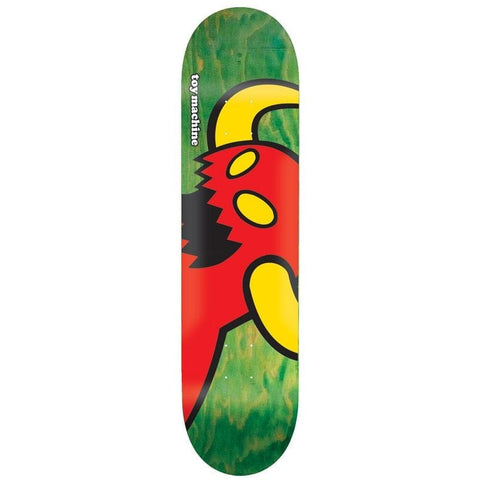 "Toy Machine | 8.375"" Vice Monster Deck – GREEN STAIN"