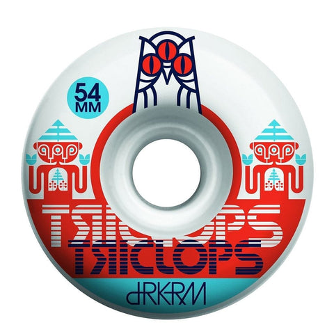 Triclops Wheels | 54mm/99a - Gemini Conical