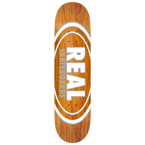 "Real | 8.38"" Oval Pearl Patterns (Various Colors)"