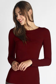 Chelsea Burgundy Seamless Top
