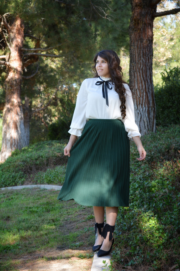Althea Emerald Green Skirt