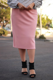 Brooklyn Peach Skirt